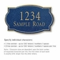 Salsbury 1440CGNS Signature Series Address Plaque