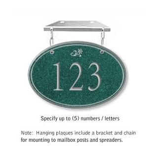 Salsbury 1435JSDH Signature Series Address Plaque
