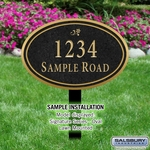 Signature Series Plaques - Oval Large