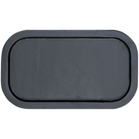 """Small Rectangle Backplate 12"""" x 6"""""""