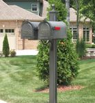 Special Lite Double Mailbox Posts