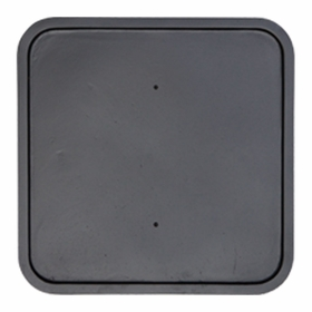 Square Backplate 12""