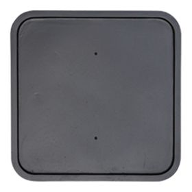 """Square Backplate 12"""""""