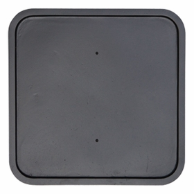 Square Backplate 18""