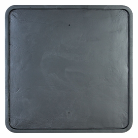 Square Backplate 24""