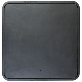 Square Backplate 30""