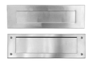 Stainless Steel Mail Slot (includes front & rear pieces)