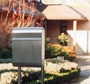 Stainless Steel Modern, Contemporary Antares Galaxy Mailbox