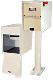 Standard Heavy Duty Rear Access Letter Locker