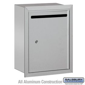 Letter Boxes Standard Recessed Mounted
