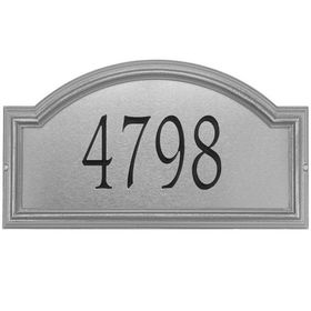 Standard Size Providence Artisan Metal Wall or Lawn Plaque - (1 Line)