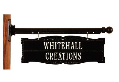 Whitehall Standard Size Two-Sided Standard Ladder Rest Sign - (2 Lines)