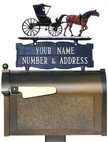 Whitehall Mailbox Signs and Sign Ornaments