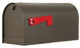 Titan Curbside Mailbox with Post Option