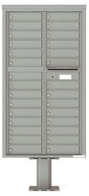 4C Pedestal Mailboxes 21 or More Doors