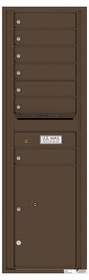 Versatile Rear Loading Commercial Mailbox with 7 Tenant Doors and 1 Parcel Locker