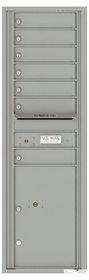 Versatile Front Loading Commercial Mailbox with 7 Tenant Doors and 1 Parcel Locker