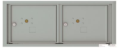 Versatile Front Loading Fully Recessed 4C Mailbox Parcel Lockers