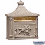 Victorian Mailboxes - Wall Mounted