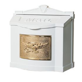 Eagle Emblem Wall Mount Mailboxes