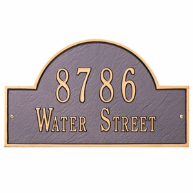 Address Plaques by Whitehall