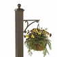 Whitehall Balmoral Monogram Mailbox and Post Package in Bronze