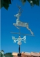 Whitehall Classic Directions Copper DEER Weathervane