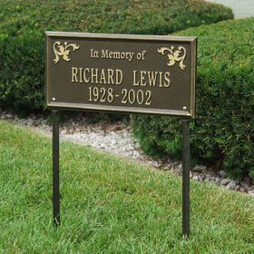 """Wilmington - Standard Lawn - Two Line """"In Memory Of"""""""