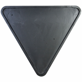 Yield Sign Backplate 30""