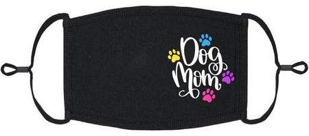 """Dog Mom"" Fabric Face Mask (PRE ORDER Ships 3/10)"