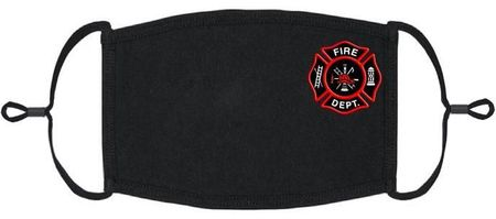 Firefighter Fabric Face Mask