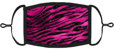 Fuchsia Animal Print Fabric Face Mask