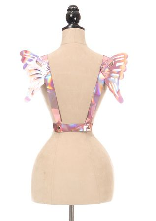 Holo Body Harness w/Wings - Small