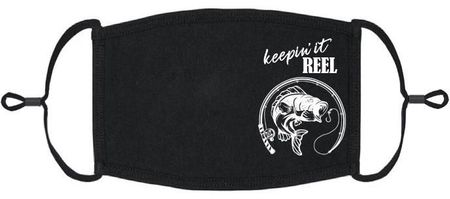 """Keepin' It Reel"" Fabric Face Mask"