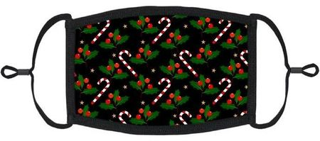 LITTLE KIDS - Candy Canes Fabric Mas