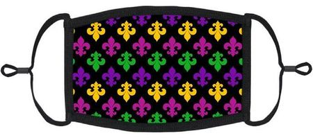 Mardi Gras Fabric Face Mask