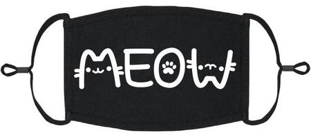 """Meow"" Fabric Face Mask"