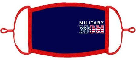 """Military Mom"" Fabric Face Mask"