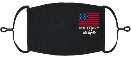 """Military Wife"" Fabric Face Mask"