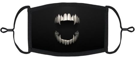 Scary Mouth Fabric Face Mask