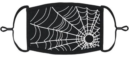 Spiderweb Fabric Face Mask