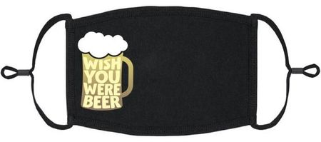 "XLARGE ""Wish You Were Beer"" Fabric Face Mask"