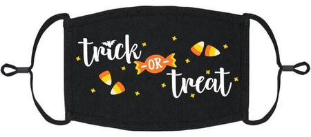 """""""Trick or Treat"""" Fabric Face Mask"""