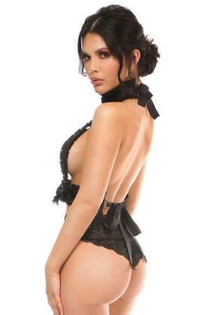 Kitten Collection Pinstripe Double Strap Body Harness - IN STOCK
