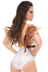 Sunset Holo Large Butterfly Wing Body Harness - IN STOCK