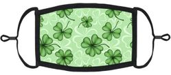 St Patrick's Day Fabric Face Mask
