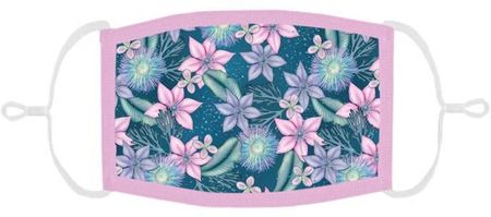 Floral Fabric Face Mask