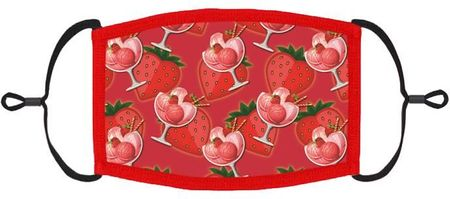 Strawberry Fabric Face Mask