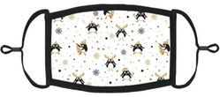 Penguins Fabric Face Mask