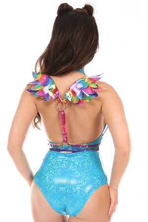 Rainbow Body Harness w/Wings - IN STOCK